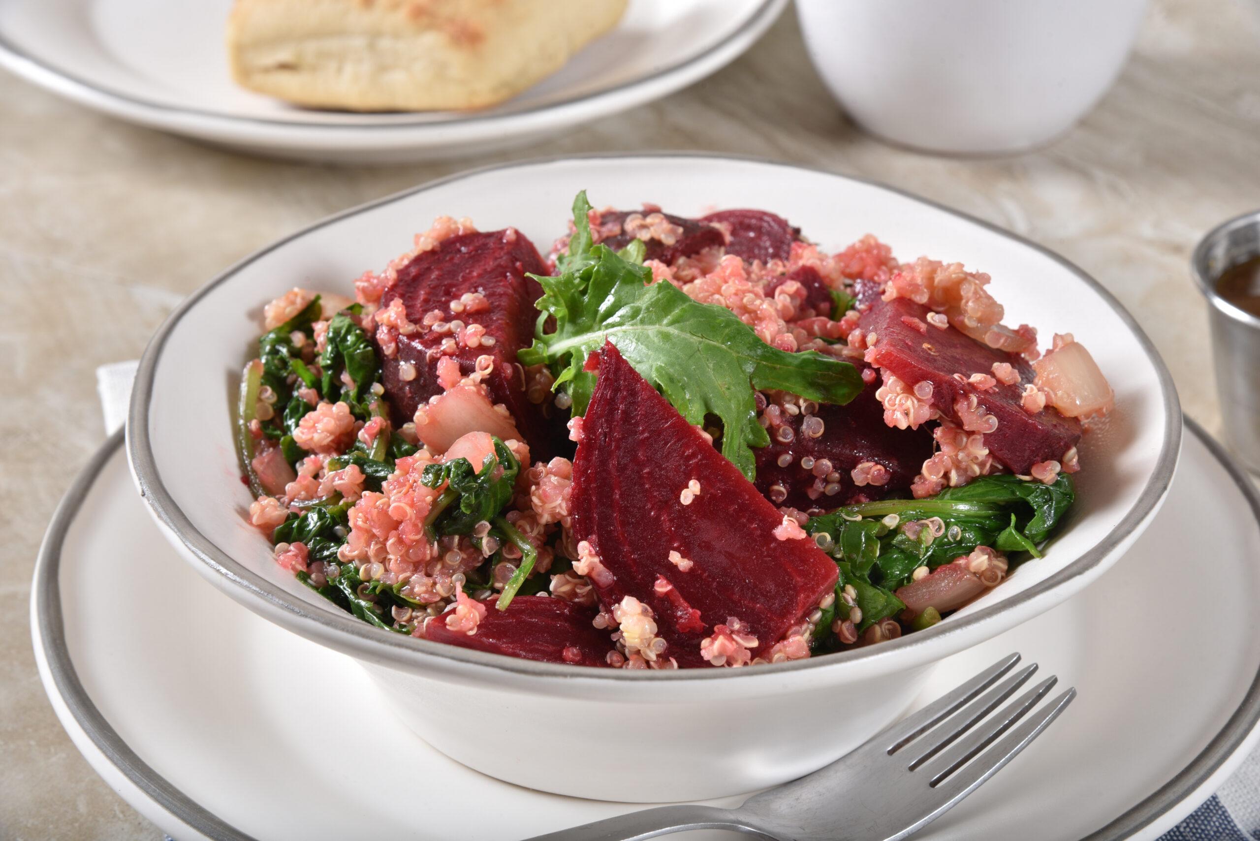 Beet, Kale and Quinoa Salad